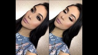 Semi Cut Crease En Tonos Neutrales | Makeup Tutorial