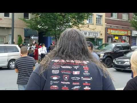 Allentown Pa 7th Street *(Cop Vs. Pedestrian)* June 20th Bus Station Fight (cop Assault)