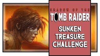 Shadow of the Tomb Raider Cenote Challenge: Sunken Treasure (Underwater Treasure Locations)