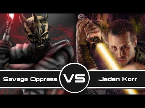Versus Series: Savage Opress VS Jaden Korr