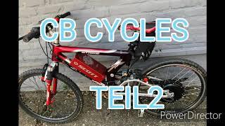 Einige meiner e-bike umbauten tei2 CB CYCLES