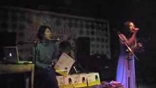 Mondialito performing at 13 Club, Beijing. 2007.1.6.