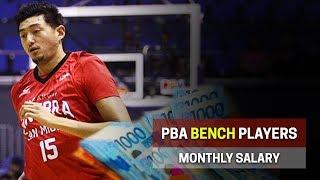 Magkano ang SAHOD ng BANGKO sa PBA? | Bench Players