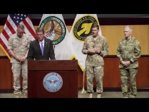Defense Department Leaders Brief Reporters (Without Graphics)
