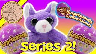 Surprizamals Series 2 Cuties Stuffed Animals First Look!