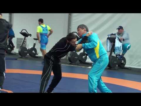 ЭКСКЛЮЗИВ: Кадры тренировки Арсена Джулфалакяна, Максима Манукяна и других спортсменов в РИО