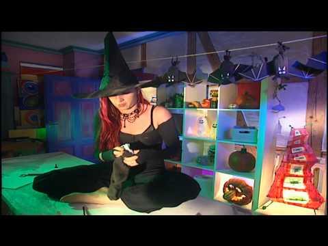 Basteln Mit Kindern Fur Halloween Halloween Deko Diy Selber Machen Youtube
