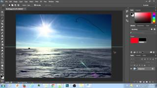 Photoshop Tutorial, How to remove big or long stains