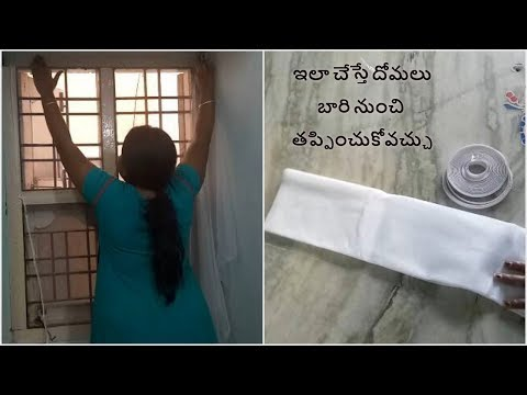 How To Install Mosquito Net At Home ? Get Rid Of Mosquitoes
