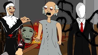 BEST OF GRANNY HORROR ANIMATION COMPILATION #7