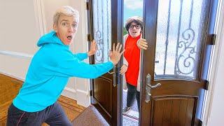 STOPPING MYSTERY NEIGHBOR from BREAKING INTO OFFICIAL SHARER FAM HOUSE!!