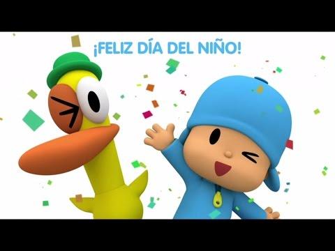Pocoyó celebra el día del niño