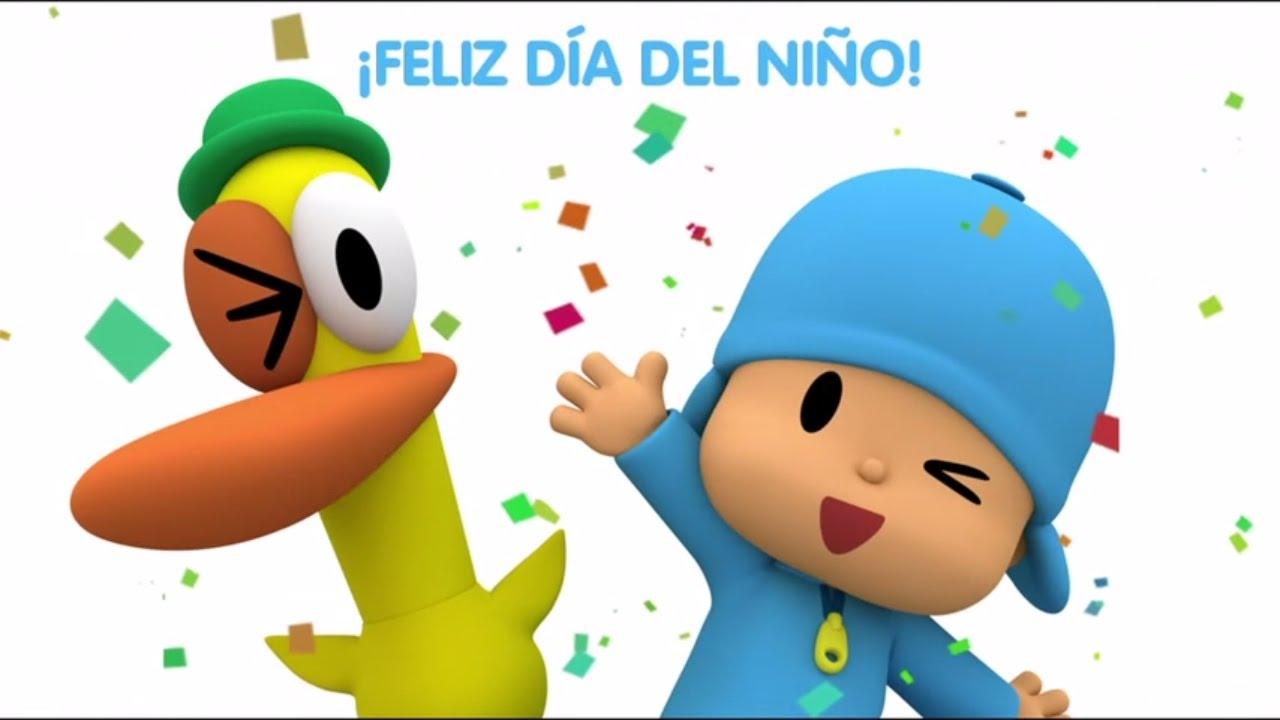 pocoyó celebra el día del niño youtube
