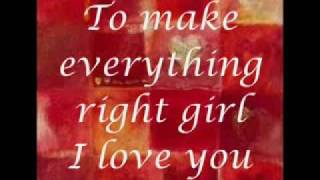 I Need You  lyrics Marc Anthony
