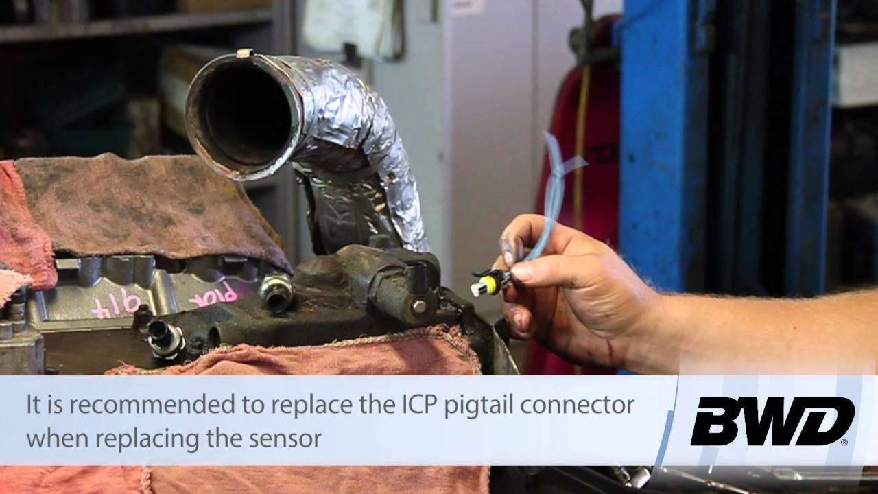 hight resolution of ford 6 0l powerstroke injection control pressure icp sensor replacement youtube