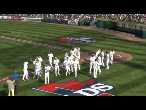 MLB 14 The Show - Jonny Gomes walkoff vs Angels in ALDS