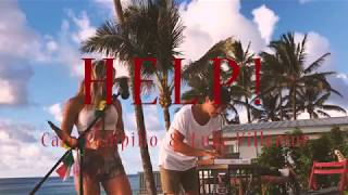 """Help"" The Beatles cover by Caro Pampillo & Luke Villemur. Aloha Sessions"