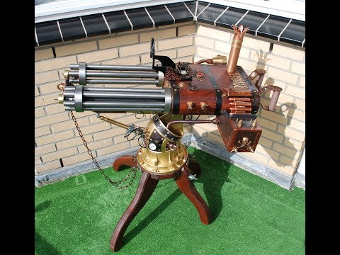 Steampunk ,  Animatronics , BBQ 's, Scrap metal art and other things. video