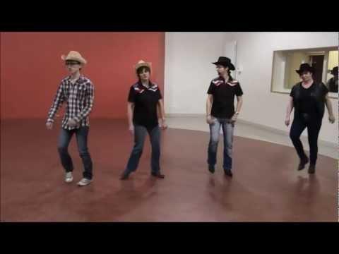 THE SPIRIT Line Dance