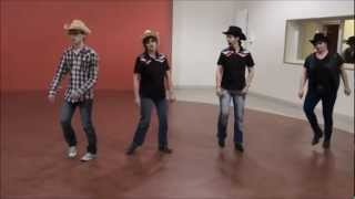 THE SPIRIT Line Dance