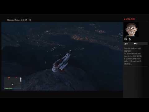 Flying the ruiner 2000 from mount chile to airport. GTA5