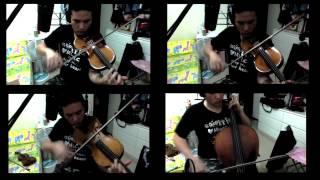 190BPM Flight of the Bumblebee String Quartet 大黃蜂 絃樂四重奏版