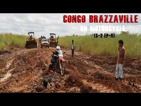 Congo Adventure Road Trip by motorcycle