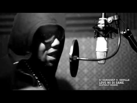 DJ Hard2Def ft. DaVille - Love mi di same [recording session video]