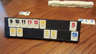 Play Rummy Rummikub Tile Game - The Fast Simple Fun Easy Way - NOT MANUAL RULES