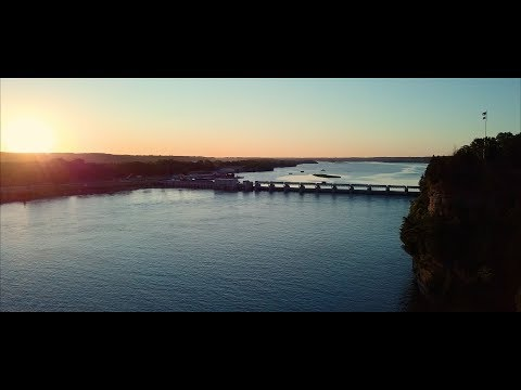 Utica Illinois | Starved Rock | Drone Footage | 2017
