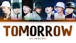 BTS - Tomorrow (방탄소년단 - Tomorrow) [Color Coded Lyrics/Han/Rom/Eng/가사]