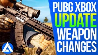 PUBG Xbox/PS4 Update - Weapon Changes, P18C Recoil, M16A4 Fire Rate, Scope Changes!