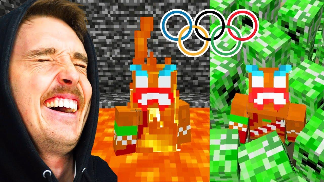 I Played Minecraft Baby Mode Youtube