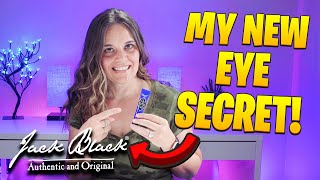 Instant Eye Wrinkle Remover? Jack Black Eye Balm De-Puffing & Cooling Gel First Impressions & Review