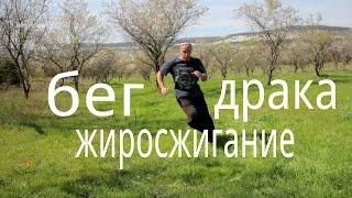 Бег Отличные упражнения для жиросжигания, драки,выносливости , взрывной силы