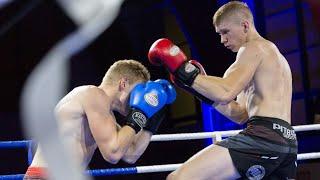 Adrian Paszkiewicz (Kickboxing Team Sejny) - Rafał Modzel (Fight Academy Ostrołęka)