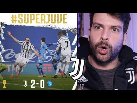 JUVENTUS NAPOLI 2-0 // CAMPIONI! SUPERCOPPA ITALIANA A PIRLO! SONO CONTENTISSIMO PER IL PRIMO TROFEO