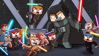 Death Star vs 1000 Minecraft Players! (Star Wars Fan Battle)