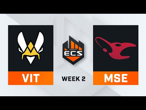 ECS Season 7 // Week 2 - Day 3 - Mouseports vs Vitality // FURIA vs Complexity