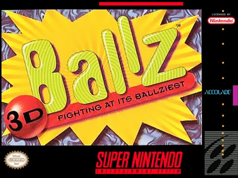 [Bierbaron Classic Review] EPISODE 20 - Ballz 3D, SNES (Deutsch, German)