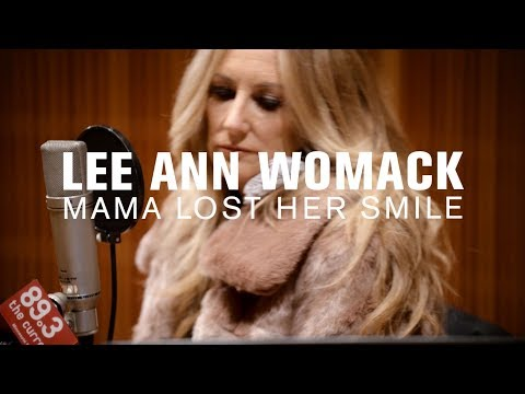 Lee Ann Womack - Mama Lost Her Smile (Live on The Current)
