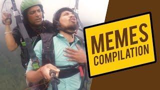 Paragliding Funny Video Memes - Vipin Sahu - Rahul Gill Edits