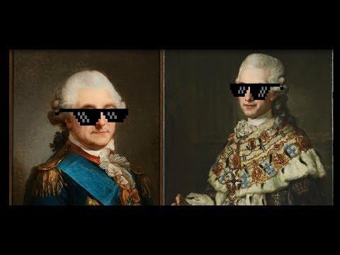 Polacy o Szwecji (Poles about Sweden) - Stanisław August Poniatowski & Gustav III (eng subtitles)