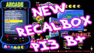 [32GB] RECALBOX RASPBERRY PI3 B+ IMAGE 10800 GAMES RPI 3B+BETA VERSION