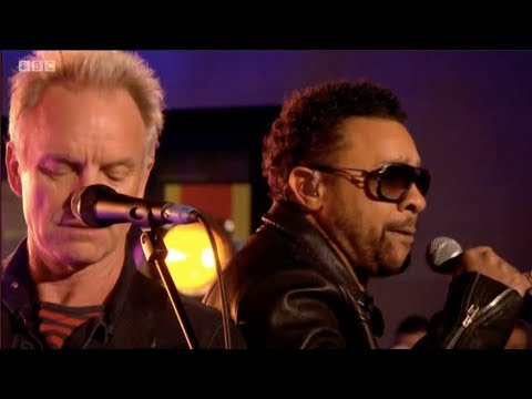 Sting & Shaggy - Don't Make Me Wait Live on The One Show. BBC. 29 Mar 2018