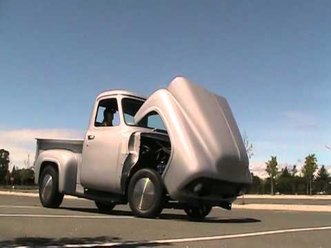 1954 Ford F100 Hood Tilt Youtube