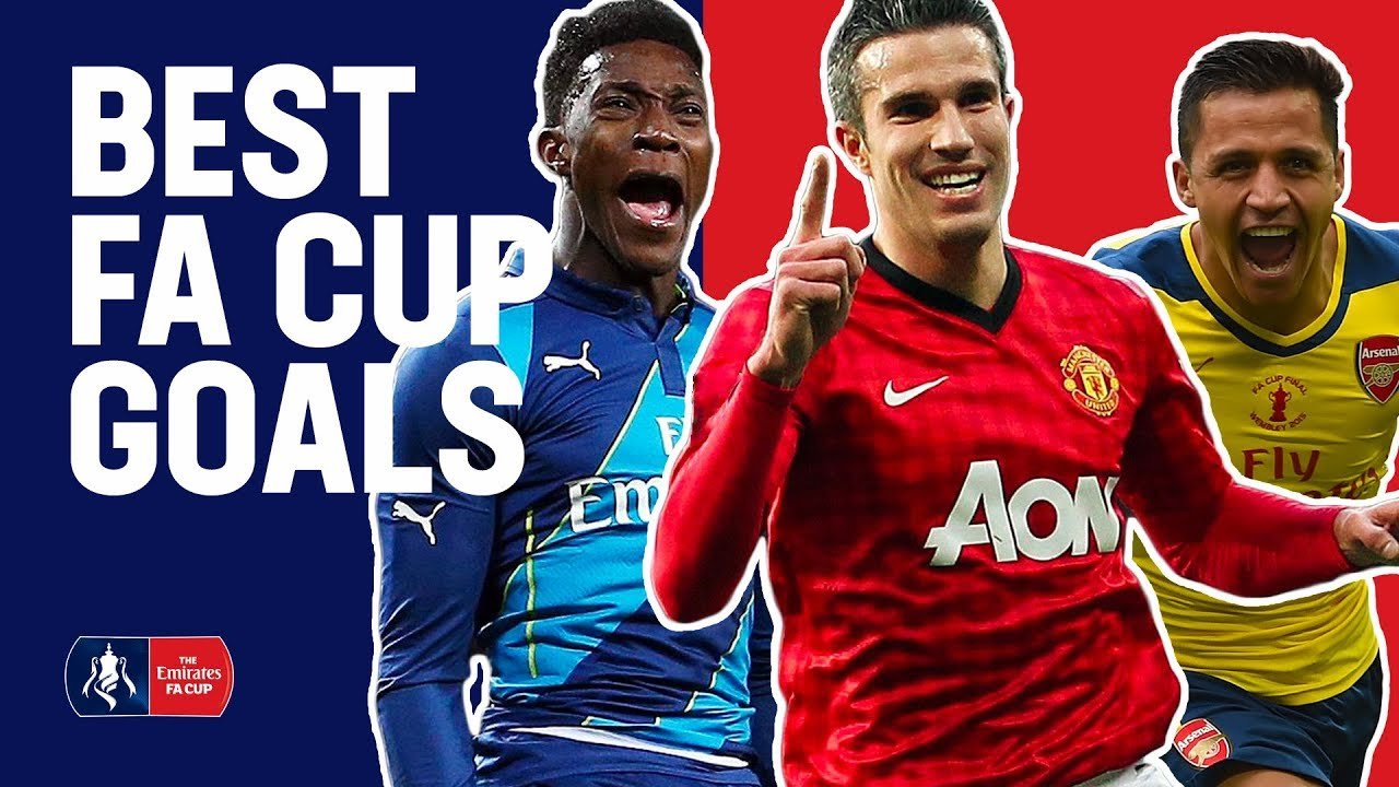 Welbeck, Van Persie & Sanchez Best FA Cup Goals For Manchester United and Arsenal | Emirates FA