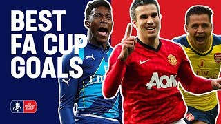 Welbeck, Van Persie & Sanchez Best FA Cup Goals For Manchester United and Arsenal