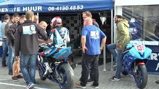 START en Oosterveen race teams tijdens de laatste OW cup races van 2017