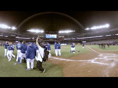 VR 360: Blue Jays Advance to the ALDS